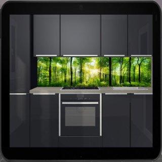 Küchenrückwand Nischenverkleidung Ab 120x50cm Bxh Bis 300x60cm