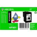 HP901BXL - TiDis Ersatzpatrone Schwarz mit 20ml Inhalt...