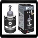 T774 Epson 140ml Nachfülltinte schwarz - C13T774140