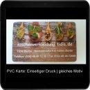 24 Stunden Sofortdruck für PVC Karten - Einseitiger...