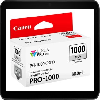 PFI1000PGY - Photo Grey - Canon Druckerpatrone mit 80ml...