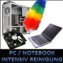 Intensive komplett Reinigung des PC`s, Notebooks oder des...