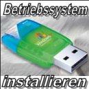 Betriebssystem Installieren (ohne Treiber)