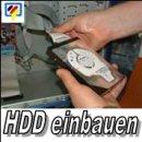 HDD / Festplatte einbauen inkl. Funktionscheck und...