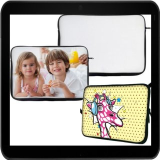 15 (26x35cm) Laptop-/Tablet/iPad Sublimationstragetasche aus Neopren