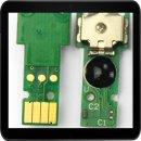 LC3217 /LC3219XL Ersatztintenchip CYAN für Ersatz-...