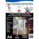 A4 Universal Tonertransferpapier - 10 Blatt Testpack...