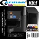 GIC - Hitzetransfertinte   Sublimationstinte Promopack -...
