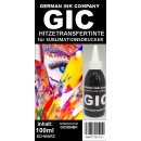GIC 100ml Black - Hitzetransfertinte | Sublimationstinte...