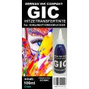 GIC 100ml Cyan - Hitzetransfertinte | Sublimationstinte...