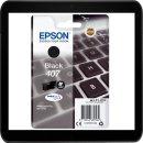 407 Black Epson Druckerpatrone mit 41,2ml INhalt für...