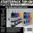 T1291 - T1294 Starterpack mit 4 Patronen + 60ml...