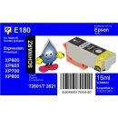 E180 - TiDis Ersatzpatrone - schwarz - mit 15ml Inhalt...