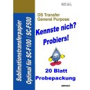 A4 Sublimationstransferpapier EPSON DS Transfer General...
