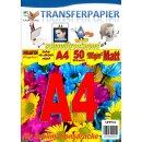 A4 50 Blatt Sublimationspapier: Sublinova Transferpapier...