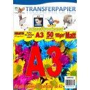 A3 50 Blatt Sublimationspapier: Sublinova Transferpapier...