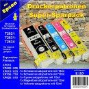 E185 - TiDis Supersparpack mit 5 Ersatzpatronen...