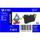 E160 - TiDis Ersatzpatrone - schwarz - mit 14ml Inhalt...
