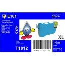 E161 - TiDis Ersatzpatrone - cyan - mit 14ml Inhalt...