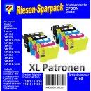 E165 - TiDis Ersatzpatronen Riesensparpack - 4xB + je 2x...
