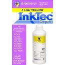 1000ml yellow Inktec Nachfülltinte für Ihren...