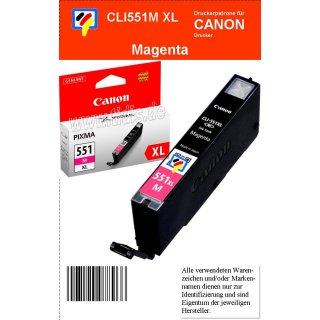 CLI551MXL - magenta - Canon Original Druckerpatrone mit 11ml Inhalt -6445B001-