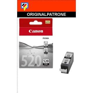 PGI520BK - schwarz - Canon Original Druckerpatrone mit 19ml Inhalt -2932B001-