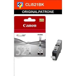 CLI521BK - Fotoschwarz - Canon Original Druckerpatrone mit 9ml Inhalt -2933B001-