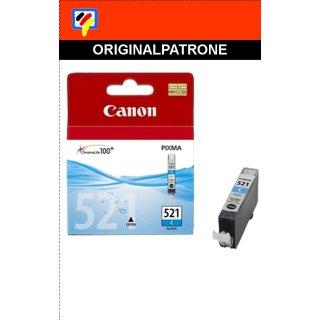 CLI521C - cyan - Canon Original Druckerpatrone mit 9ml Inhalt -2934B001-
