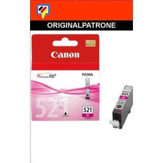 CLI521M - magenta- Canon Original Druckerpatrone mit 9ml Inhalt -2935B001-