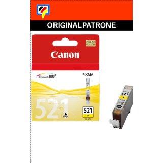 CLI521Y - yellow- Canon Original Druckerpatrone mit 9ml Inhalt -2936B001-