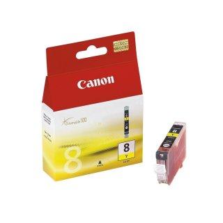 CLI8Y - yellow - Canon Original Druckerpatrone mit 13ml Inhalt -0623B001-