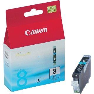 CLI8PC - Fotocyan - Canon Original Druckerpatrone mit 13ml Inhalt -0624B001-