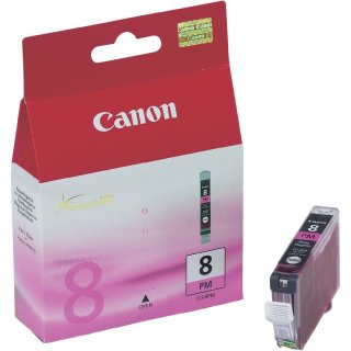 CLI8PM - Fotomagenta - Canon Original Druckerpatrone mit 13ml Inhalt -0625B001-