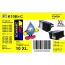Kodak10C - color - TiDis Ersatzpatrone mit 63ml Inhalt