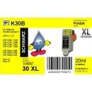 Kodak30BKXL - schwarz - TiDis Ersatzpatrone mit 20ml Inhalt