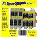 Kodak30 - TiDis Ersatzpatronen Riesensparpack mit 10...