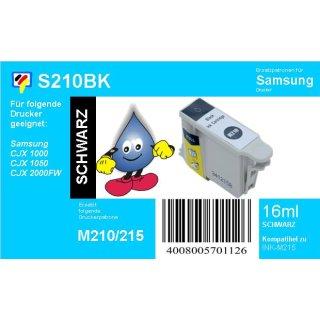 Samsung InkM215 - schwarz - TiDis Ersatzpatrone mit 16ml Inhalt