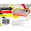 CISS / Easyrefillpatronen für PGI525 & CLI526er...
