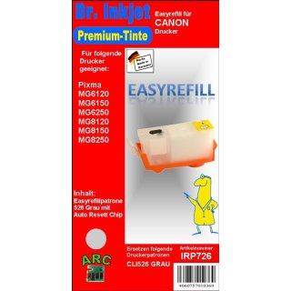 CISS / Easyrefillpatrone als Ersatz f.die CLI526GY / Grau