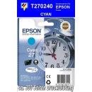 T270240 - cyan - Epson Druckerpatrone mit 3,6ml Inhalt...
