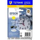 T270440 - yellow - Epson Druckerpatrone mit 3,6ml Inhalt...