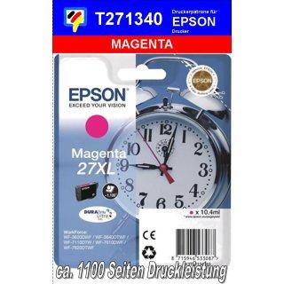 T271340 - magenta XL - Epson Druckerpatrone mit 10,4ml Inhalt für 1100 Seiten Druckleistung - Durabrite Ultra