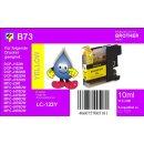 LC123Y - Yellow - TiDis Ersatzdruckerpatrone mit 10ml Inhalt