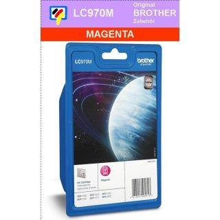 LC970M - magenta - Brother Originalpatrone für 300 Seiten Druckleistung nach ISO 24711