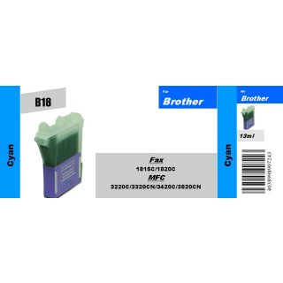 LC800C - cyan - TiDis Ersatzpatrone für 500 Seiten Druckleistung nach ISO 24711