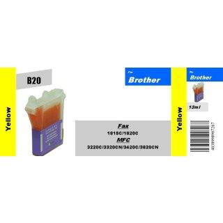 LC800Y - yellow - TiDis Ersatzpatrone für 500 Seiten Druckleistung nach ISO 24711