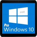 Windows10  PRO 64Bit Version -  DSP 1pk Deutsch DVD -...