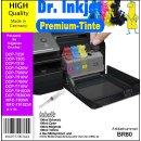 BR80 - Dr. Inkjet 400ml Druckertinten Starterset für...