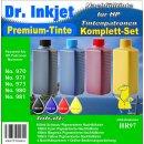 HR97 - Dr. Inkjet Komplett 400ml Set Premium Pigmentierte...